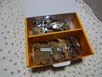 キアッケレカーニのミートローフとクッキー