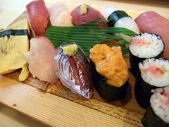 笹鮨のおまかせにぎり