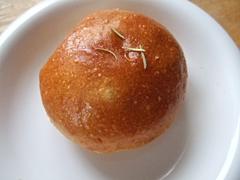 アンチョビとオリーブのパン