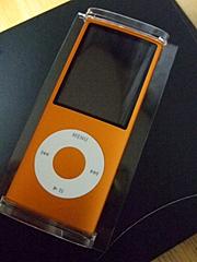 iPod nanoのオレンジ♪