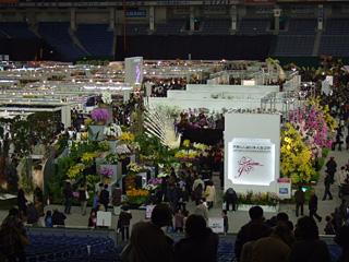 世界らん展日本大賞2009の会場