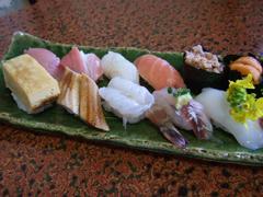 大徳家のお寿司