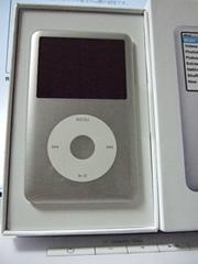 iPod classicのシルバー