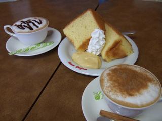 Dog Cafe わんシフォンのシフォンケーキ
