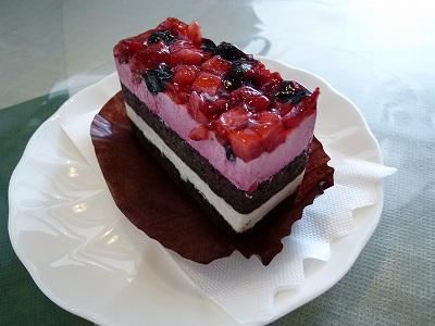 ベリー系ケーキ