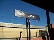 バーデン・バーデン駅