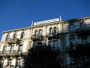 バーデン・バーデンのホテル「オイロペイシャー・ホーフ」1