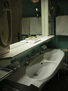 「オイロペイシャー・ホーフ」洗面台