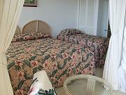 イリカイ・コンドミニアムのベッドルーム