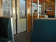 ミュンヘン駅からフレットマニング駅へ向かう車内