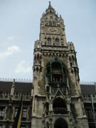 ミュンヘンの新市庁舎上部