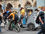 三輪車のタクシー