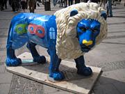 ライオンの像