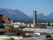 ザルツブルクのホテルの窓から見える景色01