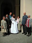 ミラベル宮殿で結婚式