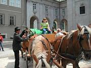 観光用の馬車