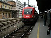 ザルツブルクから乗った電車