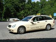 タクシーはベンツ