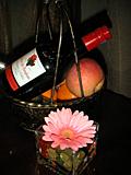 ワインとフルーツ@衝山賓館