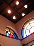 馬車道十番館天井