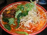 四川屋台の担々麺