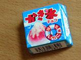 チロルチョコ かき氷