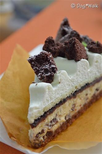 a la campagne(ア・ラ・カンパーニュ)のチョコミントのケーキ