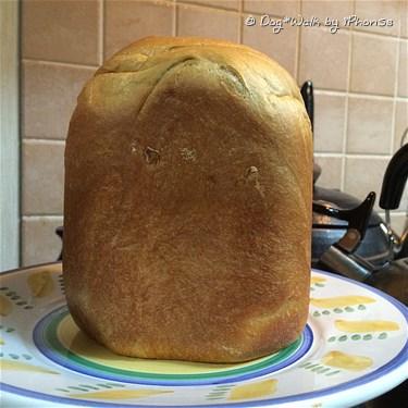 ふすまパンのできあがり