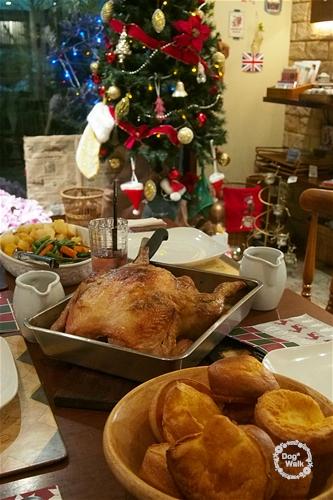 クリスマスチキンディナー