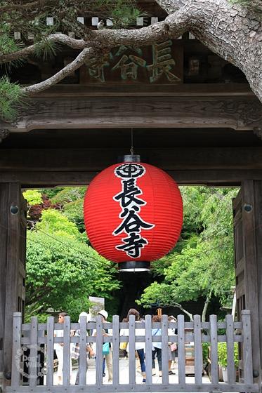 長谷寺の赤提灯