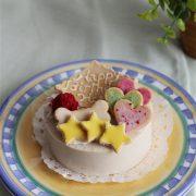 しっぽなのケーキ