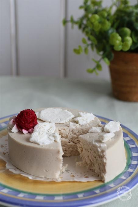 しっぽなのケーキ断面