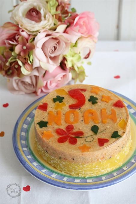 ノアの誕生日ケーキ