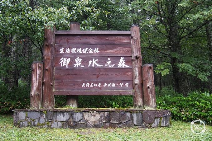 御泉水の森