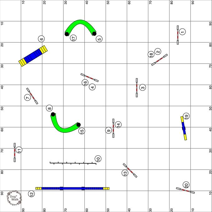 AG2のコース図