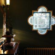 山手西洋館ベーリックホールの窓