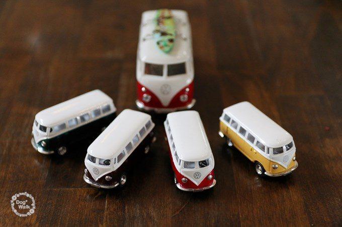 ワーゲンバスのミニカー