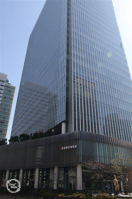 博物館は横浜三井ビルディング2階にあります。