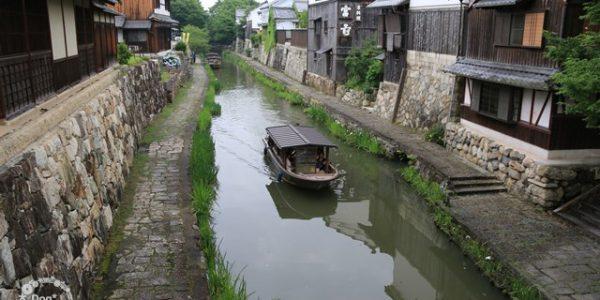水郷めぐりの舟