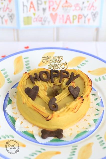 キアッケレさんの犬用ケーキ