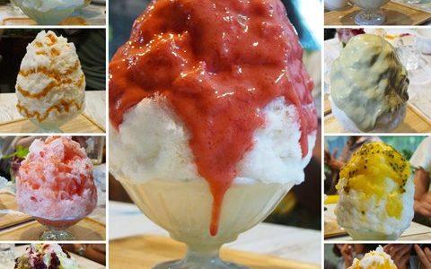 かき氷@ブンブンブラウカフェ